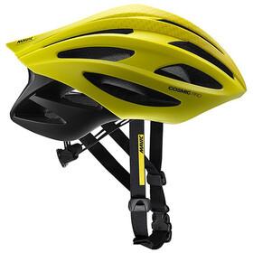 Mavic Cosmic Pro Kask rowerowy Mężczyźni, sulphur springring/black